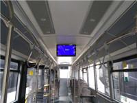 18.5/21.5寸公交车载显示器成功安装城市公交车