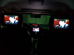 9.8寸头枕DVD装入台湾客户马自达5系列