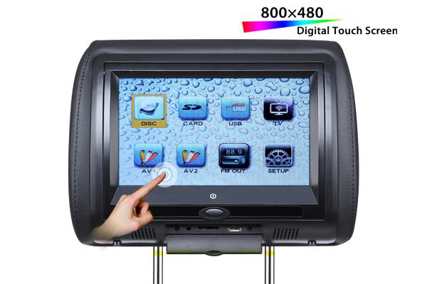 VT-DH706T 7寸头枕包触摸屏DVD