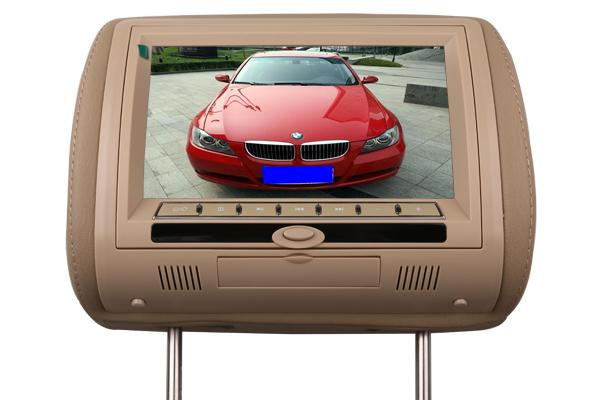 VT-DH706 7寸车载头枕dvd