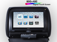 VT-DH908T 9寸触摸屏头枕包DVD