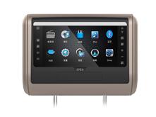 2017新款热销VT-DH705T触摸屏头枕DVD,头枕娱乐显示器